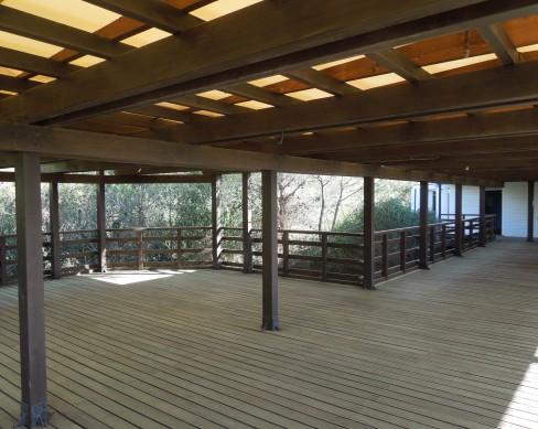 Indagini su uno stabilimento balneare in legno lamellare