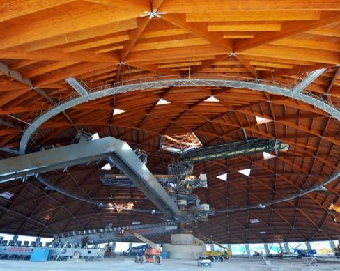 Analisi sui giunti delle cupole della centrale ENEL di Brindisi