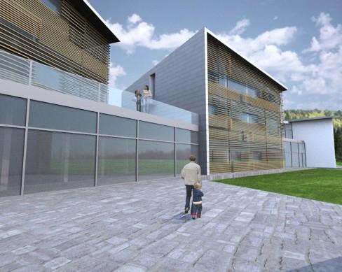 Progettazione strutturale complesso scolastico a Lavarone