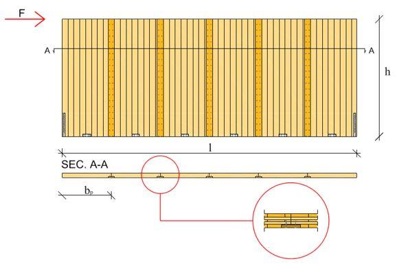 Modellazione edifici XLAM