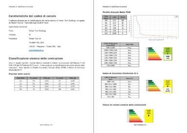 Relazione classificazione rischio sismico